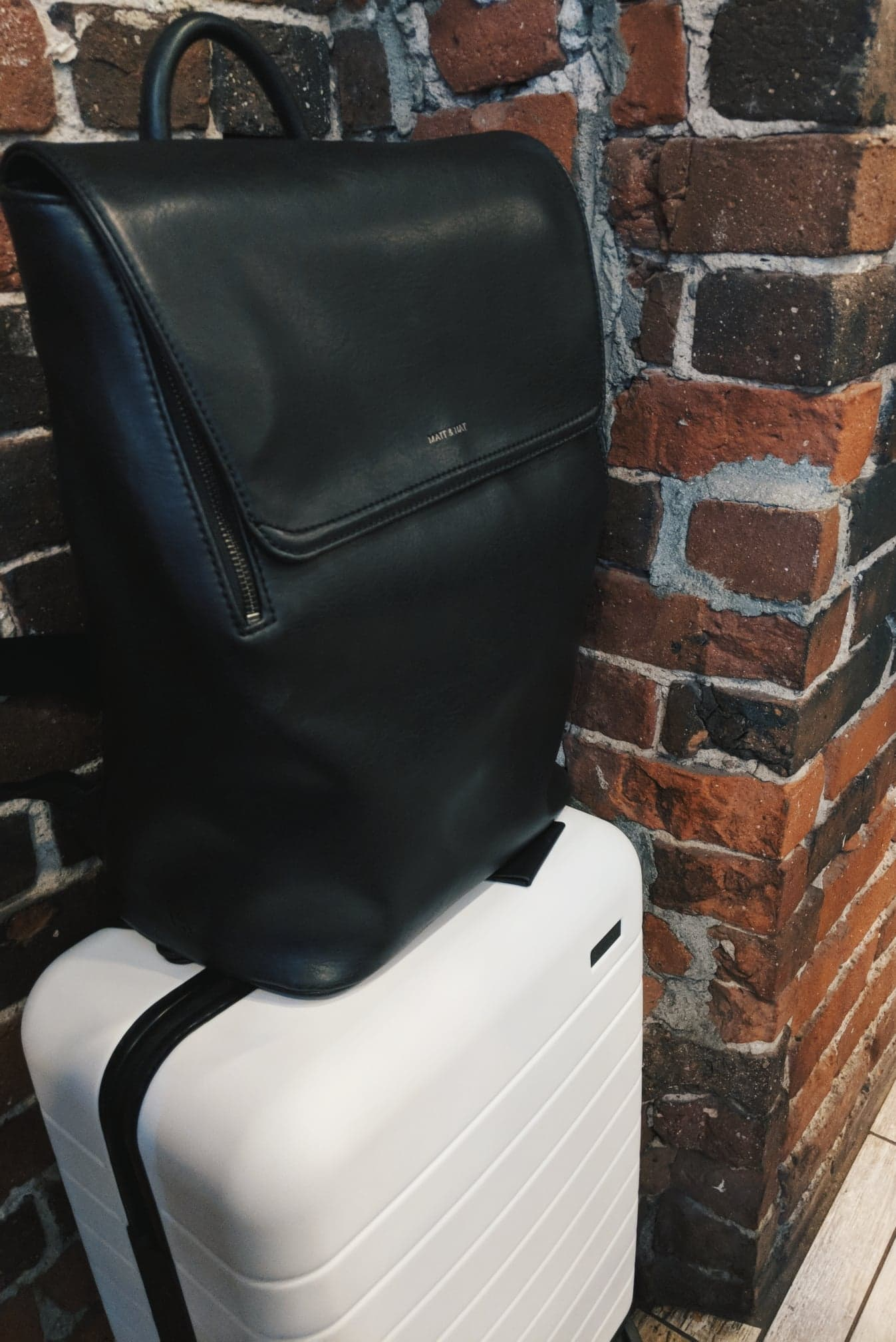 Matt + Nat Backpack and Away Suitcase | Tall Girl Meets World