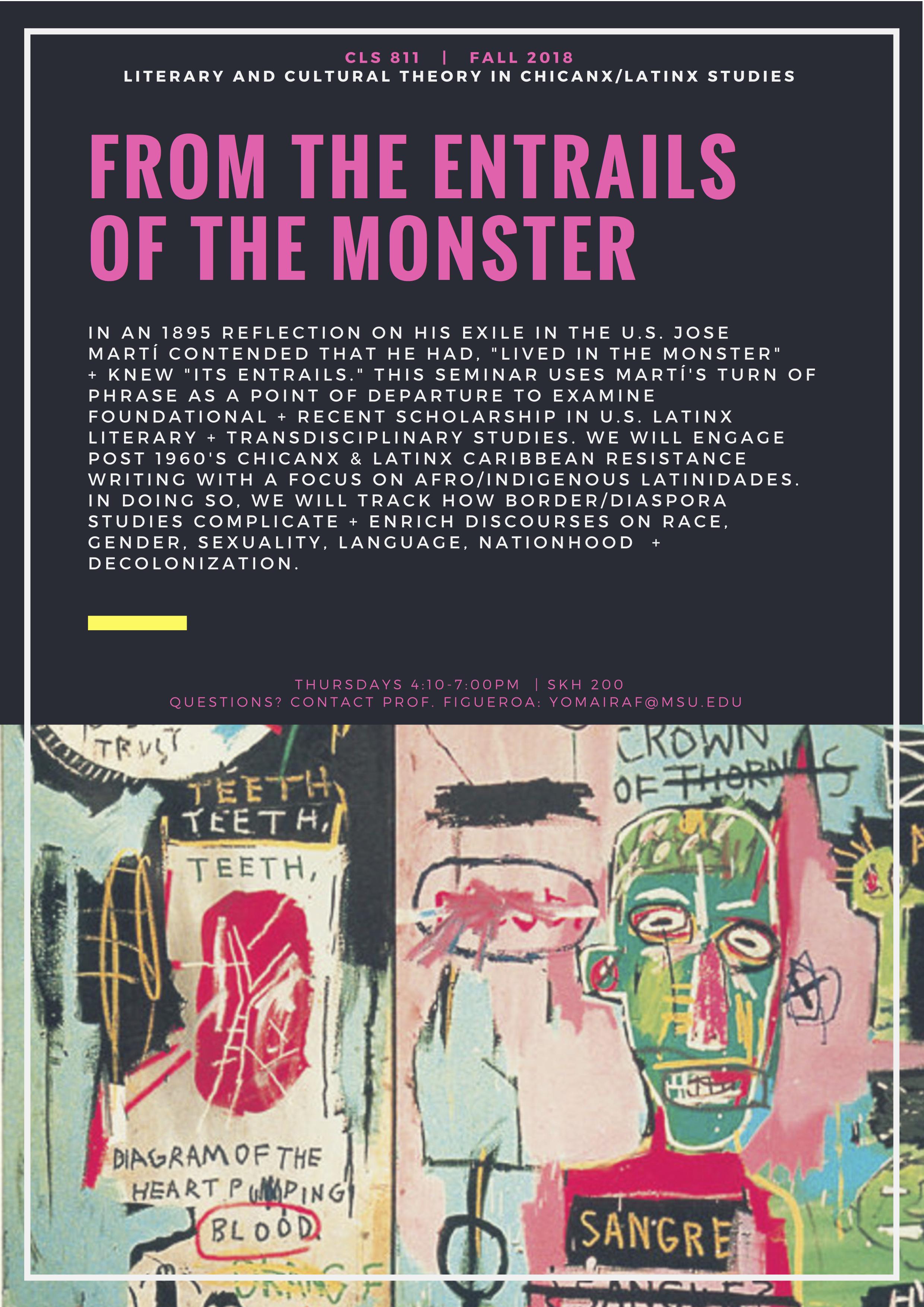 CLS 811 FALL 2018 The Monster.jpg