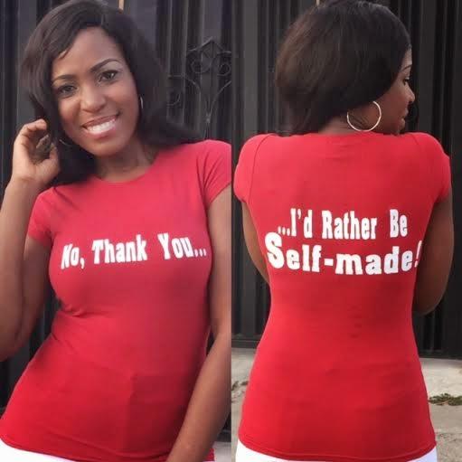 Photo of Linda Ikeji via her  blog .