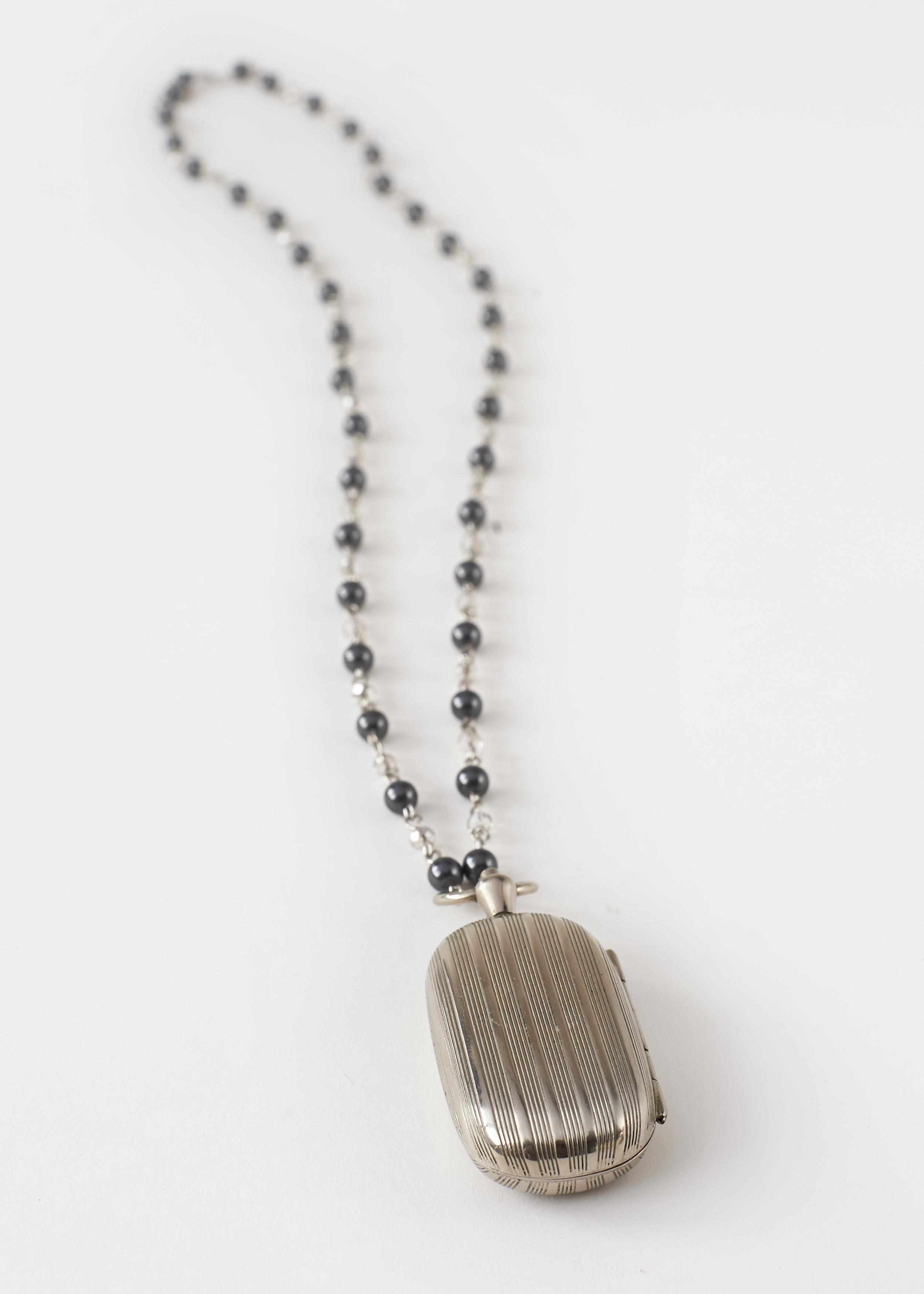 Vintage Subway Token Necklace
