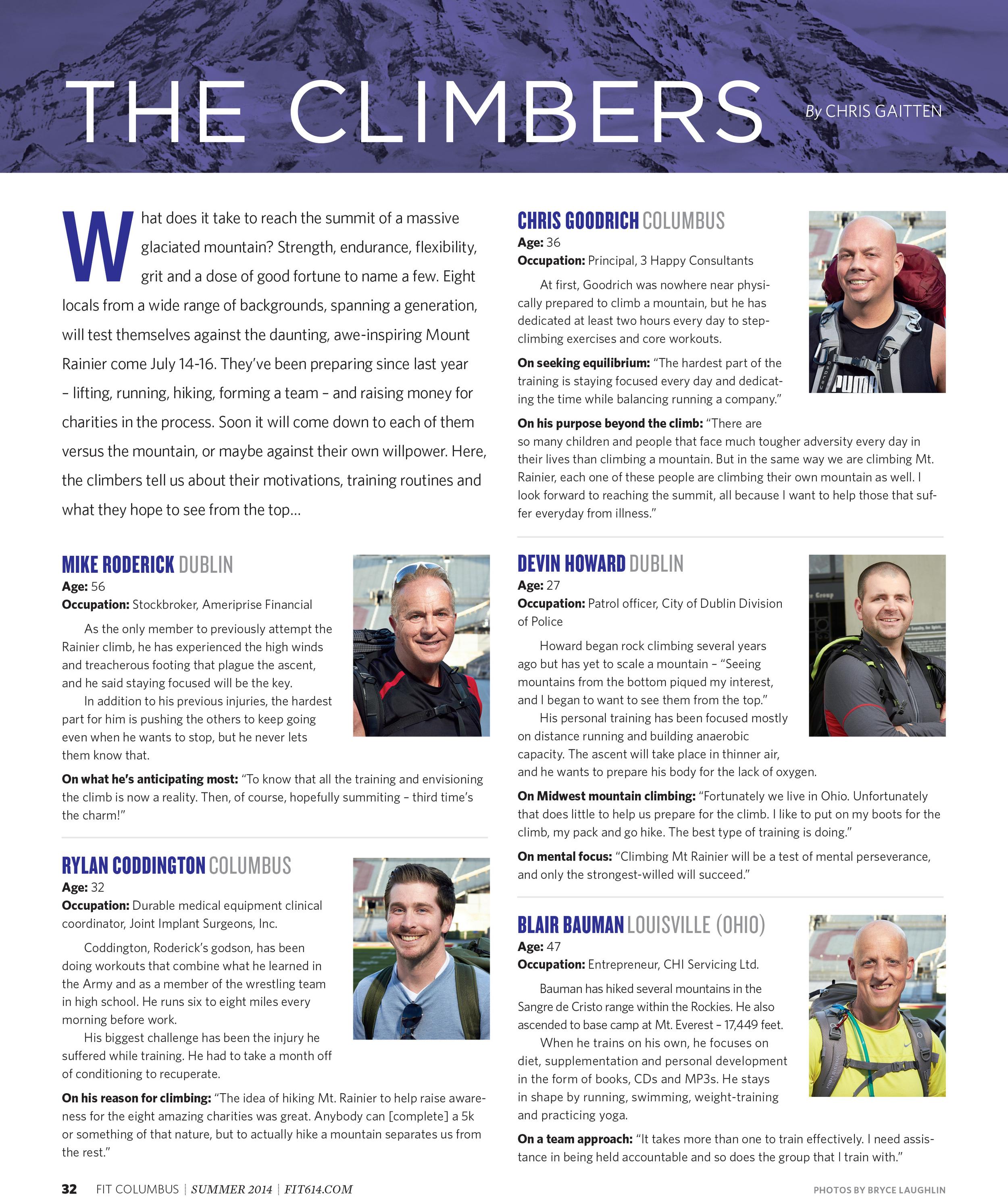 OSU Climbers Headshots