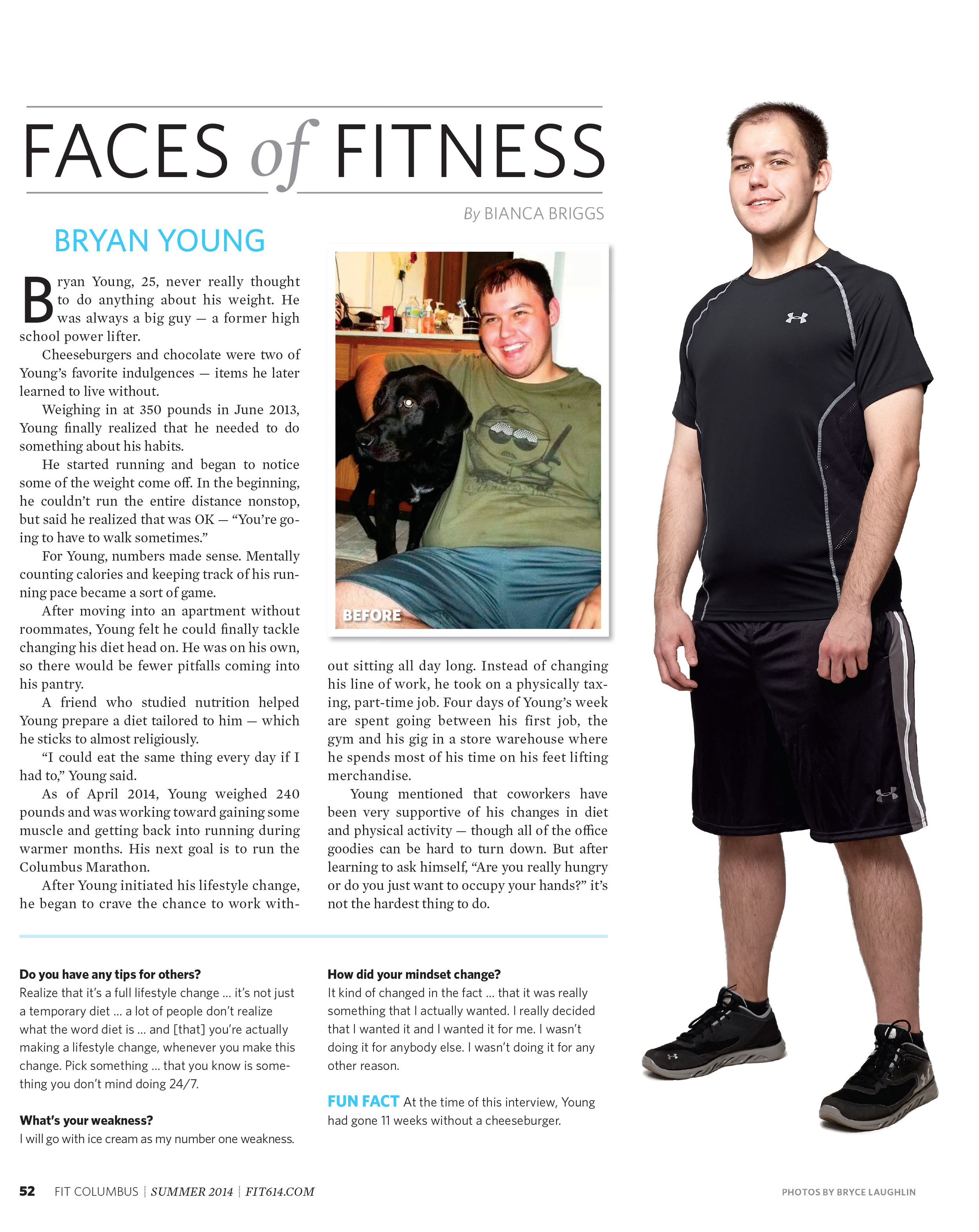 Faces of Fitness