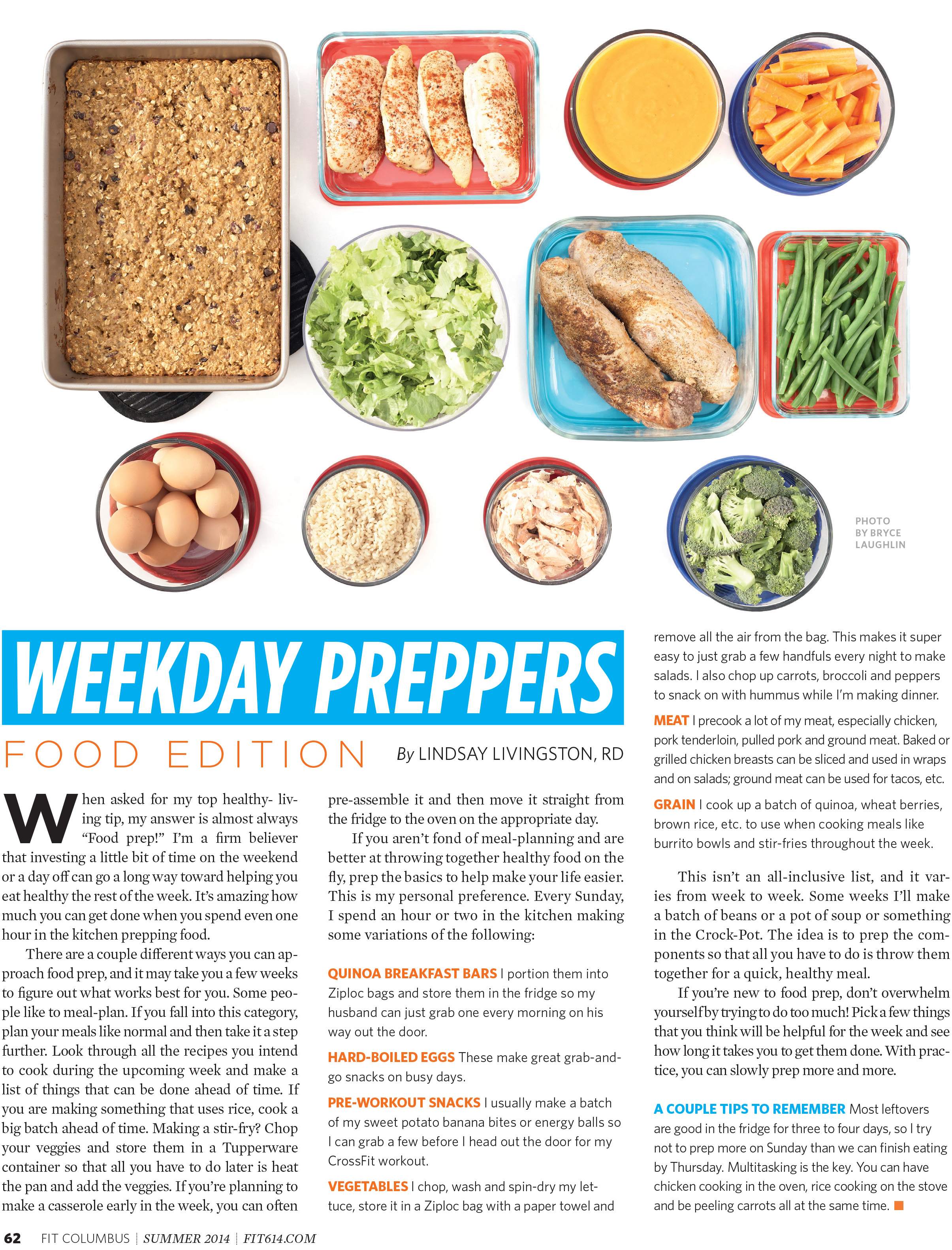 Meal Preppers Editorial