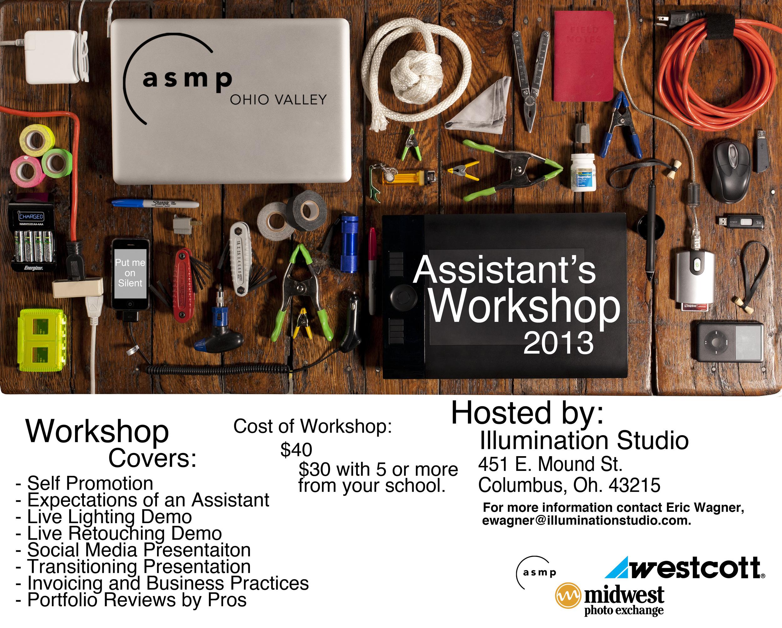 ASMP Ohio Valley Assistant's Workshop