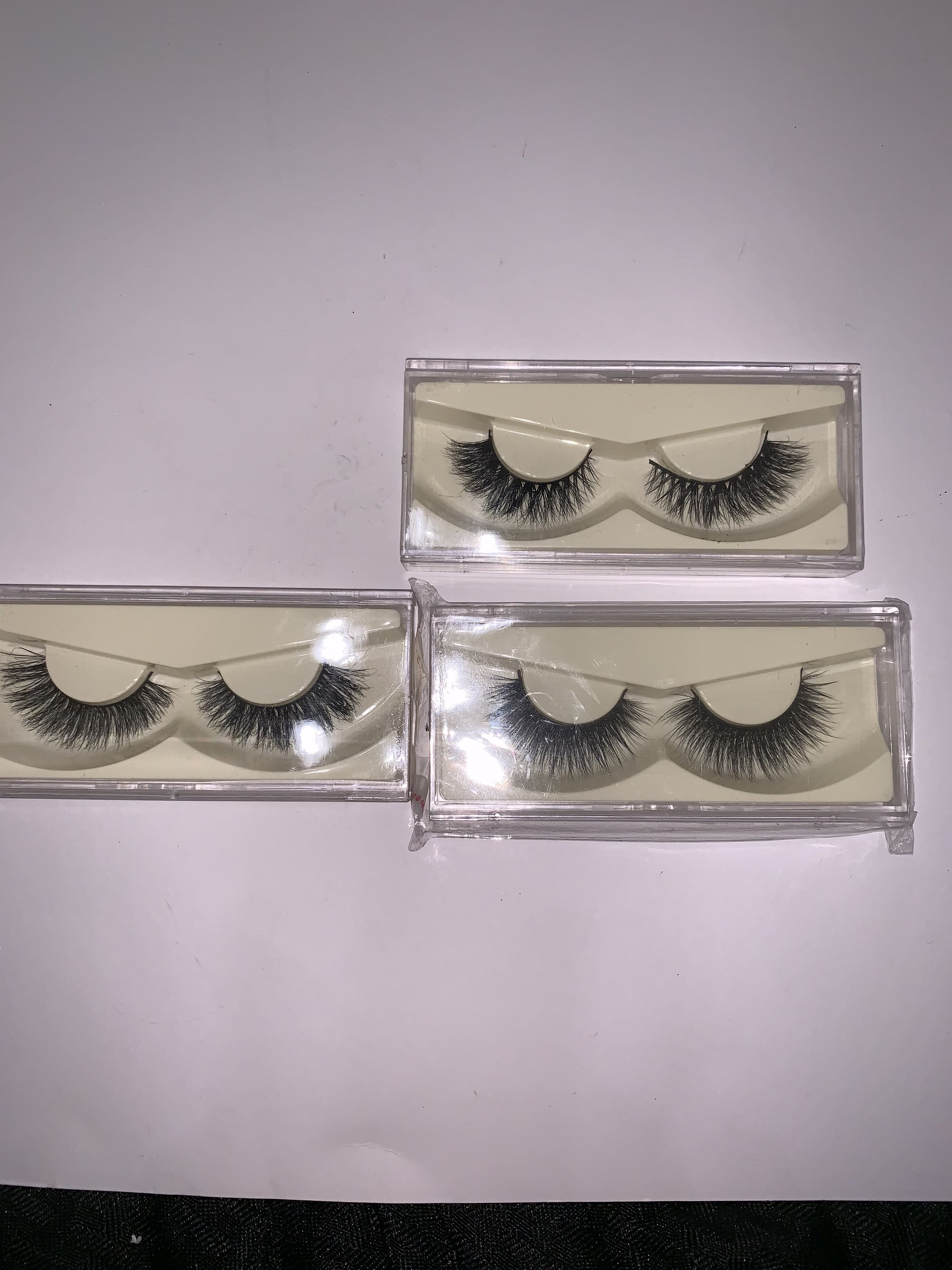 mink lashes-$5