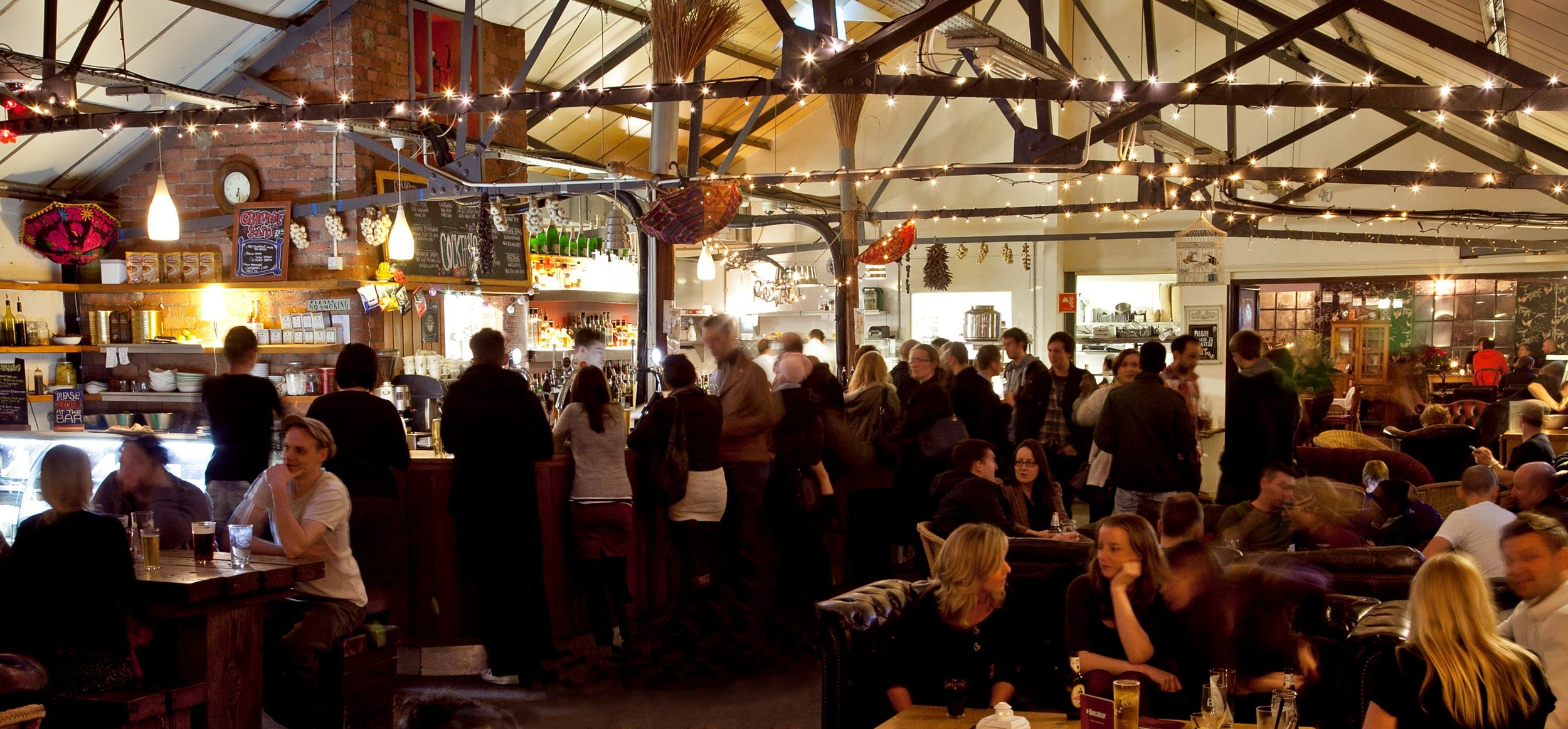 Bocabar lends itself to being a bustling festive honey pot for those seeking lovingly presented drinks and food. A relaxed, hip venue to enjoy some music and maybe dabble in some occasional dancing.