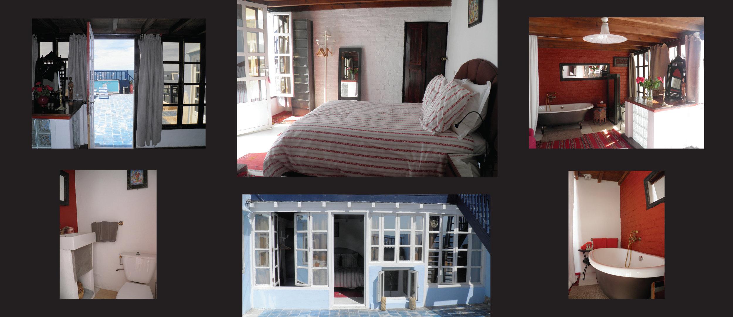 SCALA – DZ (DB) mit Zugang zur Terrasse und Badewanne