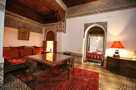 Suite Orientale – 2 Zimmer mit je einem Doppelbett und geteiltem Bad