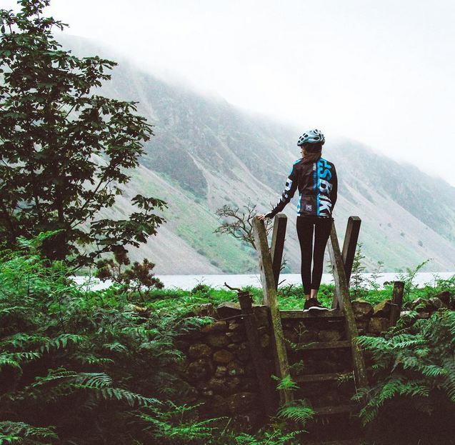 Alex in The Lake District -  @girlmeetsbike