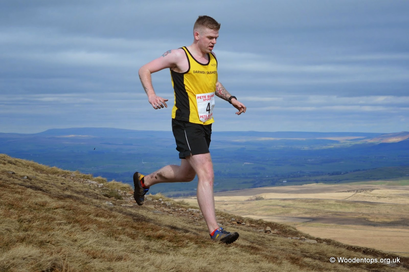 Heading back off Pendle hill- #19