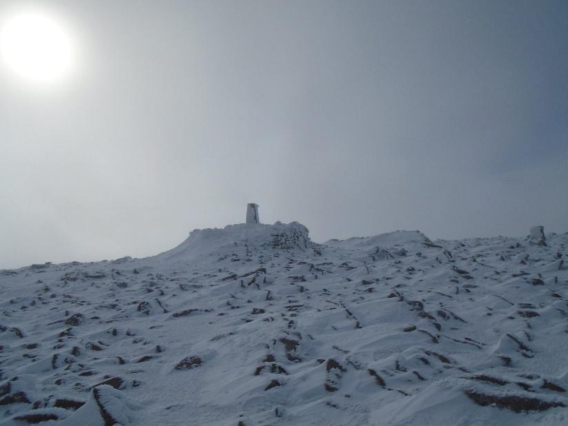 My first winter summit, Ben Macdui, March 2015