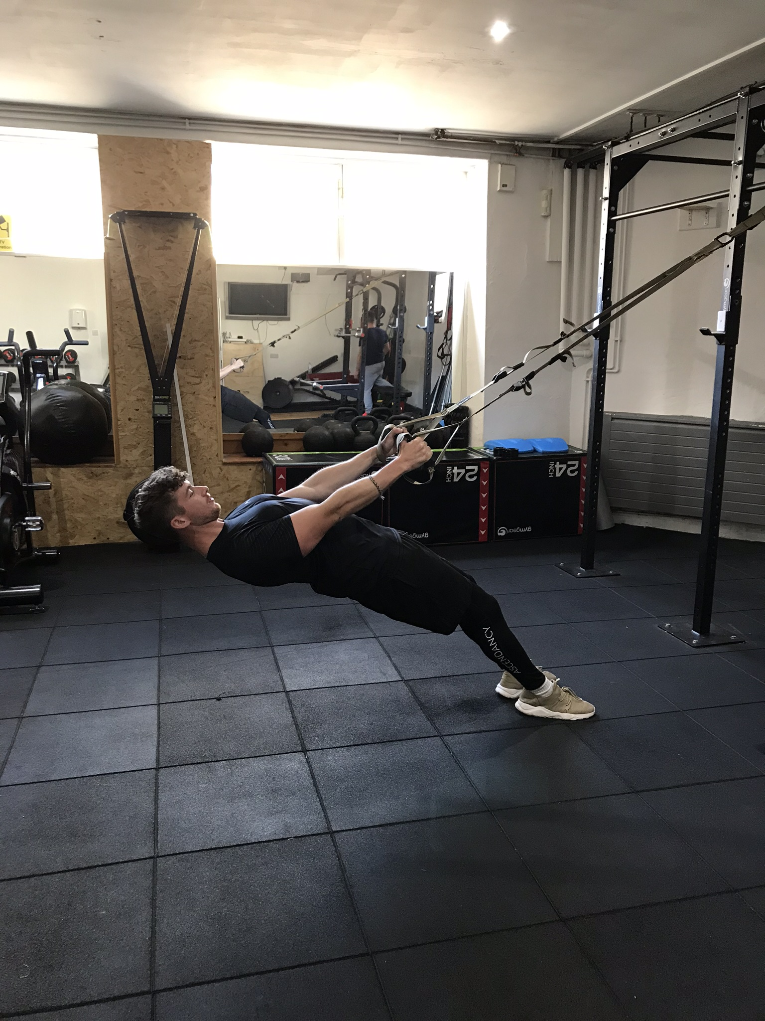 Inverted row starting position.