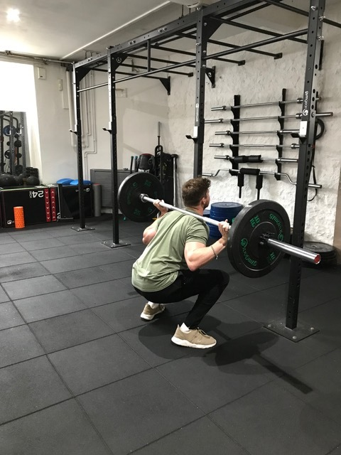 Bottom of the squat