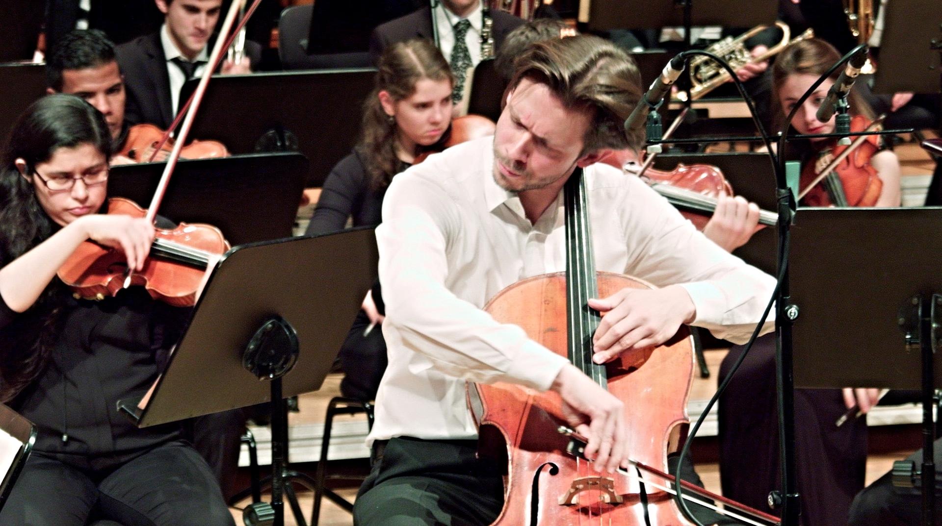 Dvorak Cello Concerto in 2015 in Stuttgart