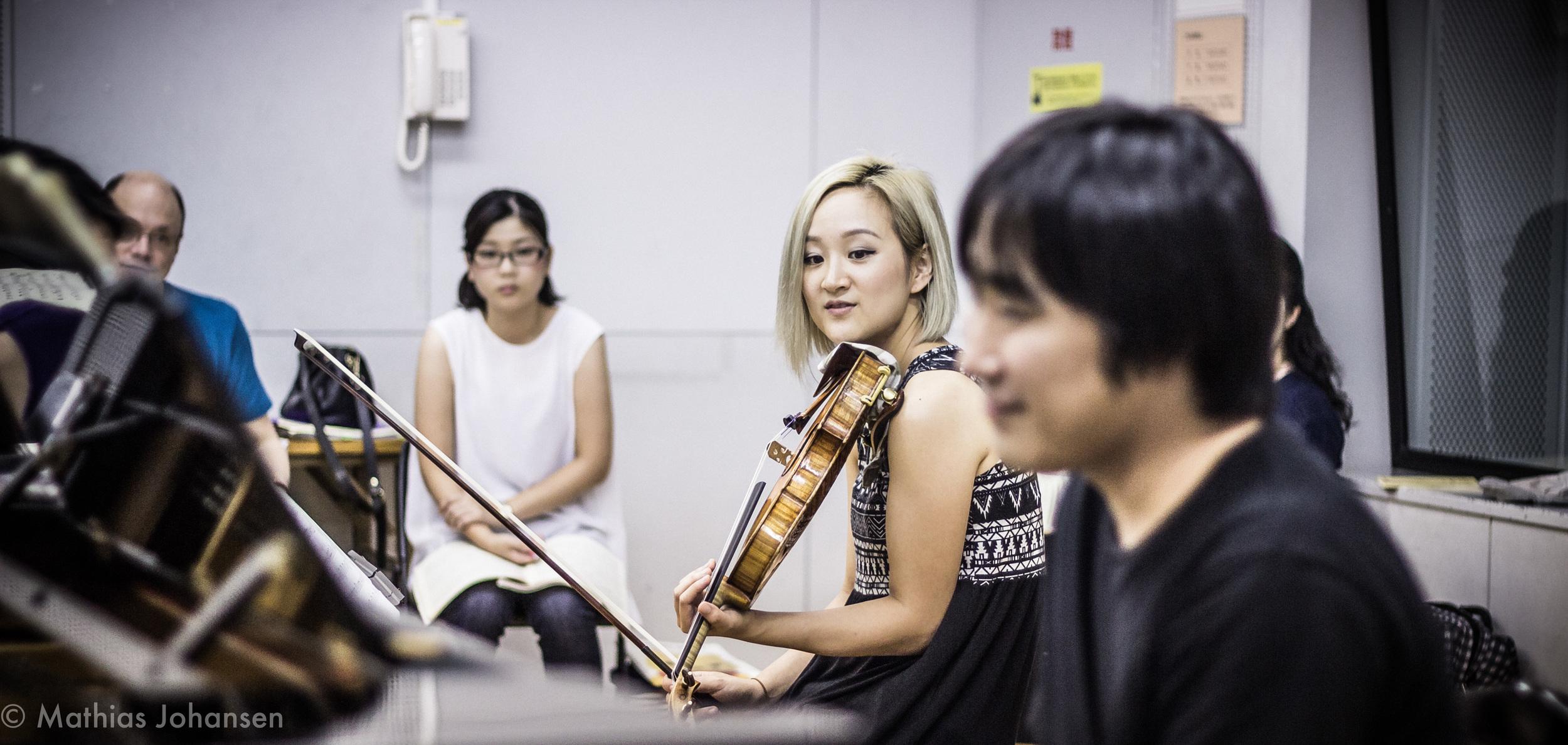 Teaching chamber music