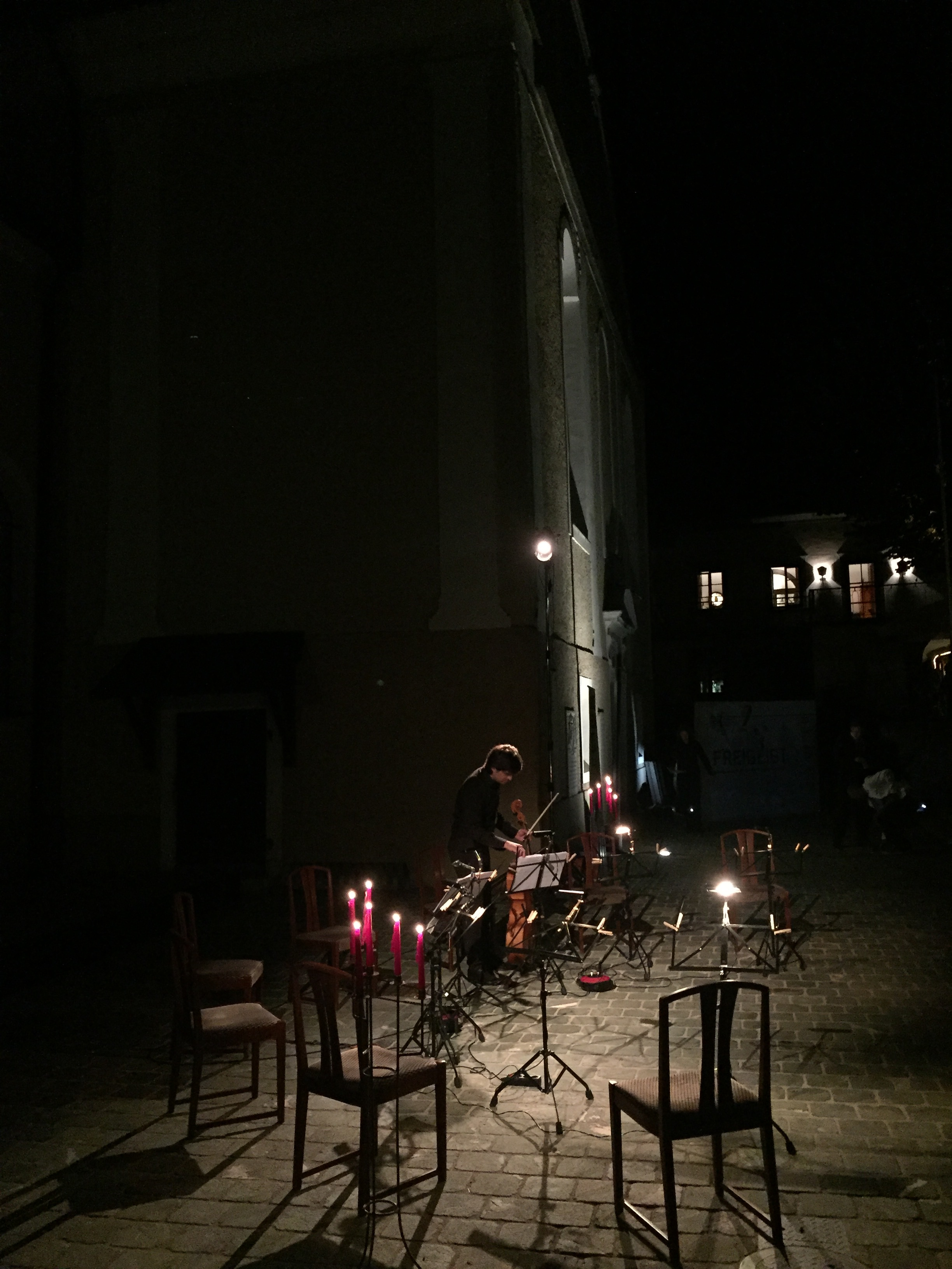 Cello Octett in candle light!