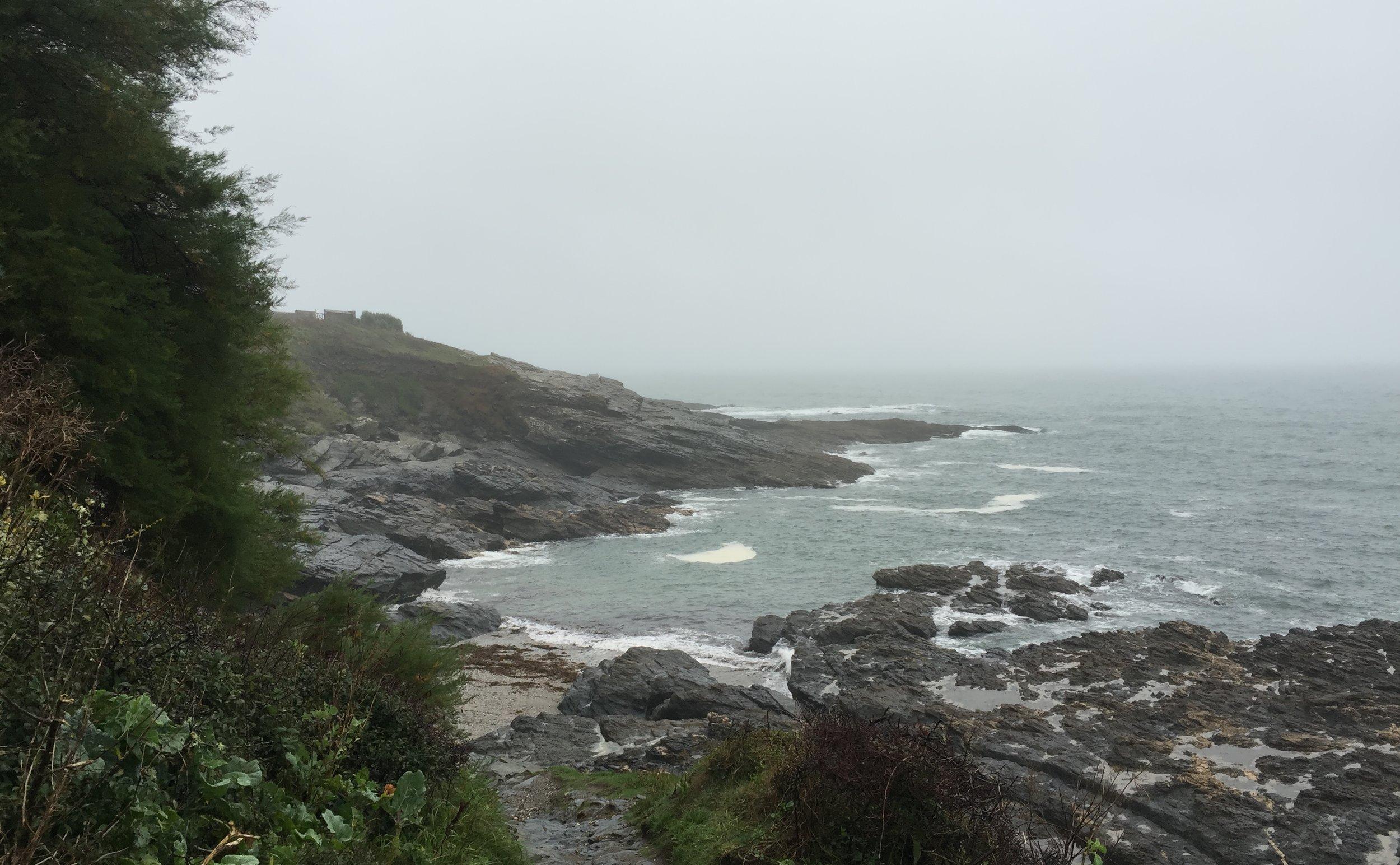 Grey shots at Prussia Cove / Cornwall