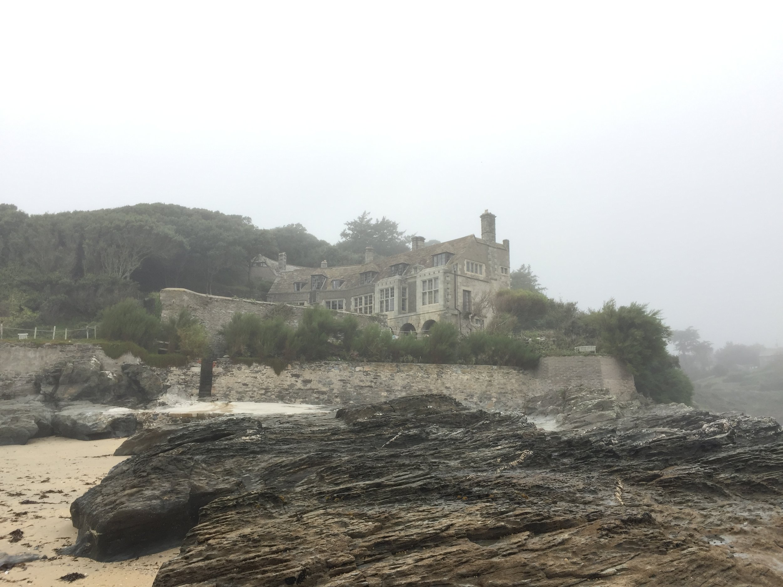 This is our Open Chamber Music castle at Prussia Cove / Cornwall