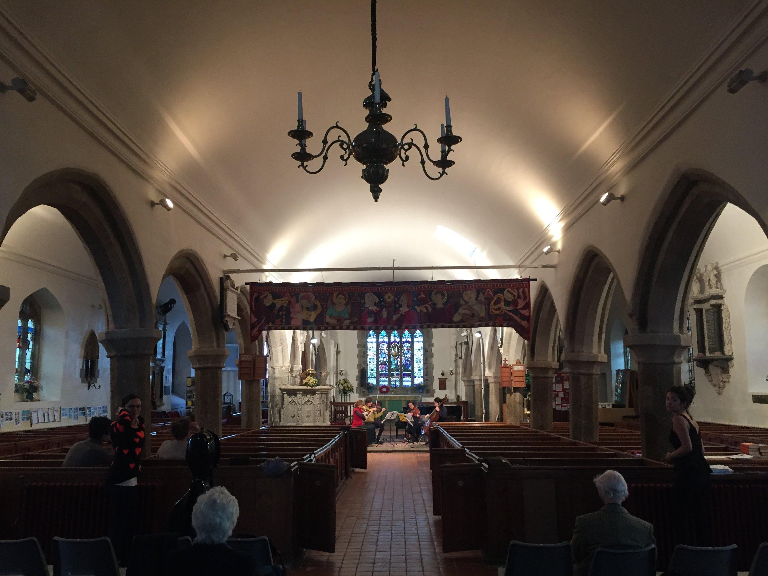 Schumann Quintet in this church at OCM