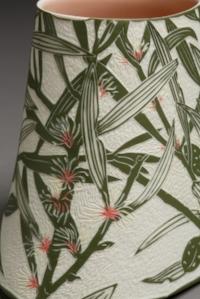 Broad-leaf Hakea , 2018. Porcelain, 17h x 19.6w x 16.5d cm. Image Art Atelier