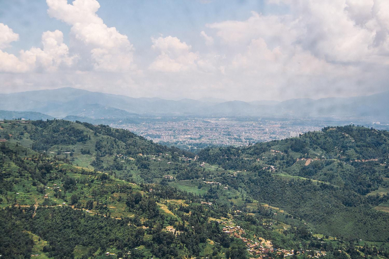 View of Kathmandu Valley from Kulay | Photo:  Sagar Chitrakar