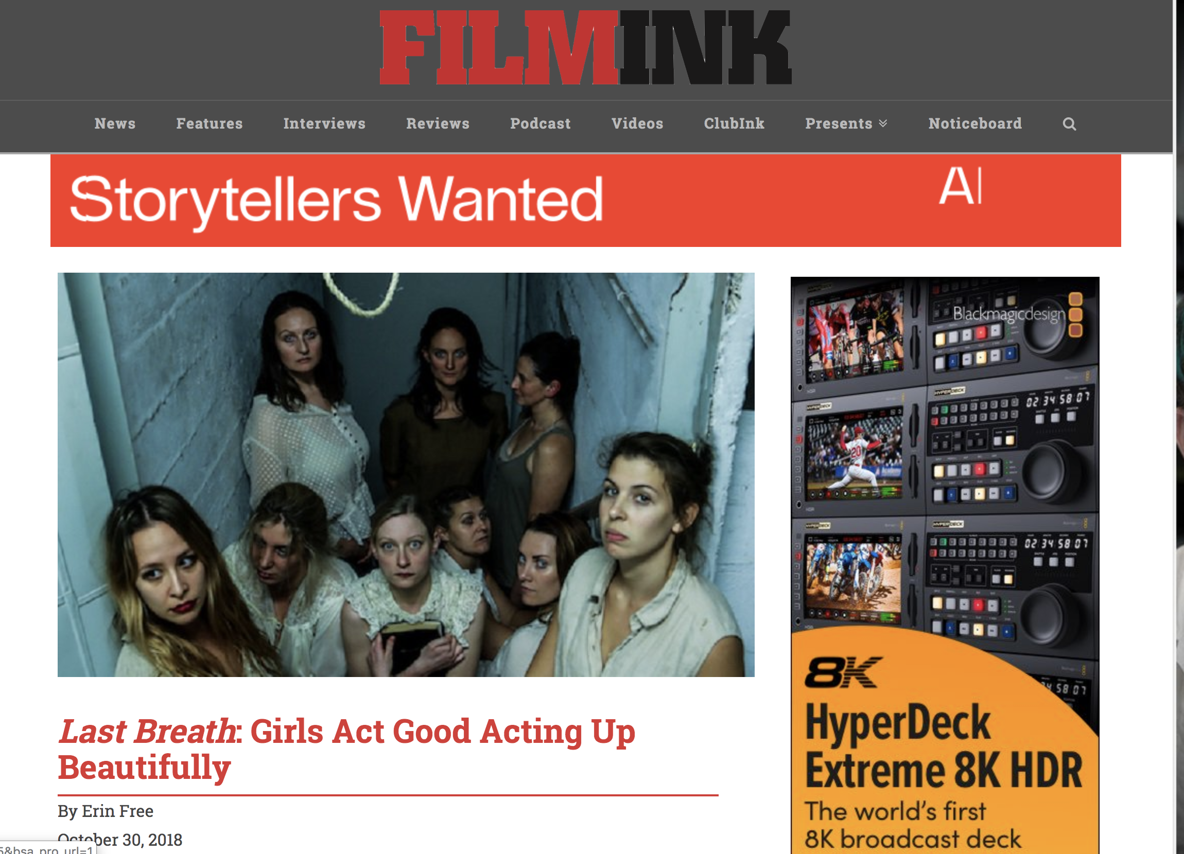 FILMINK review by Erin Free