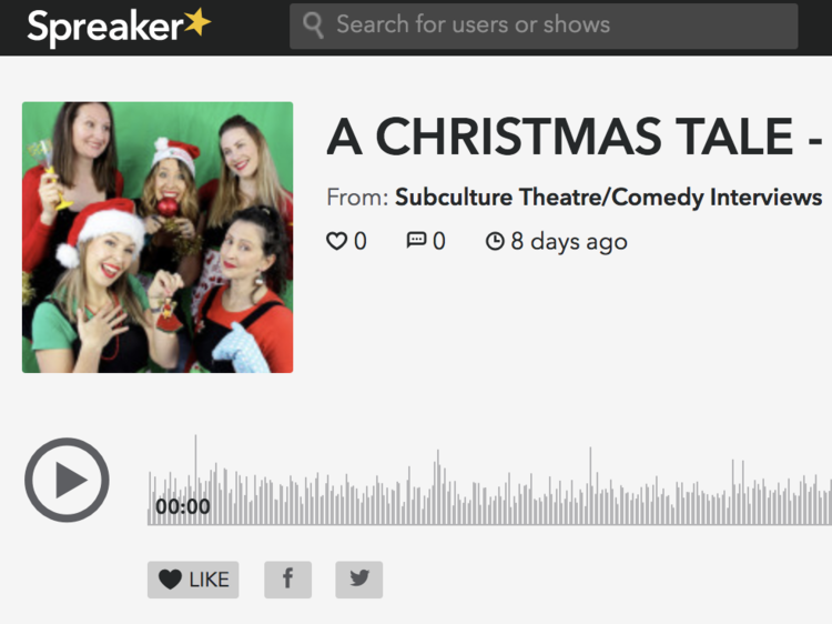 Subculture chats to Jennifer Monk about Girls Act Good's latest production - A Christmas Tale.