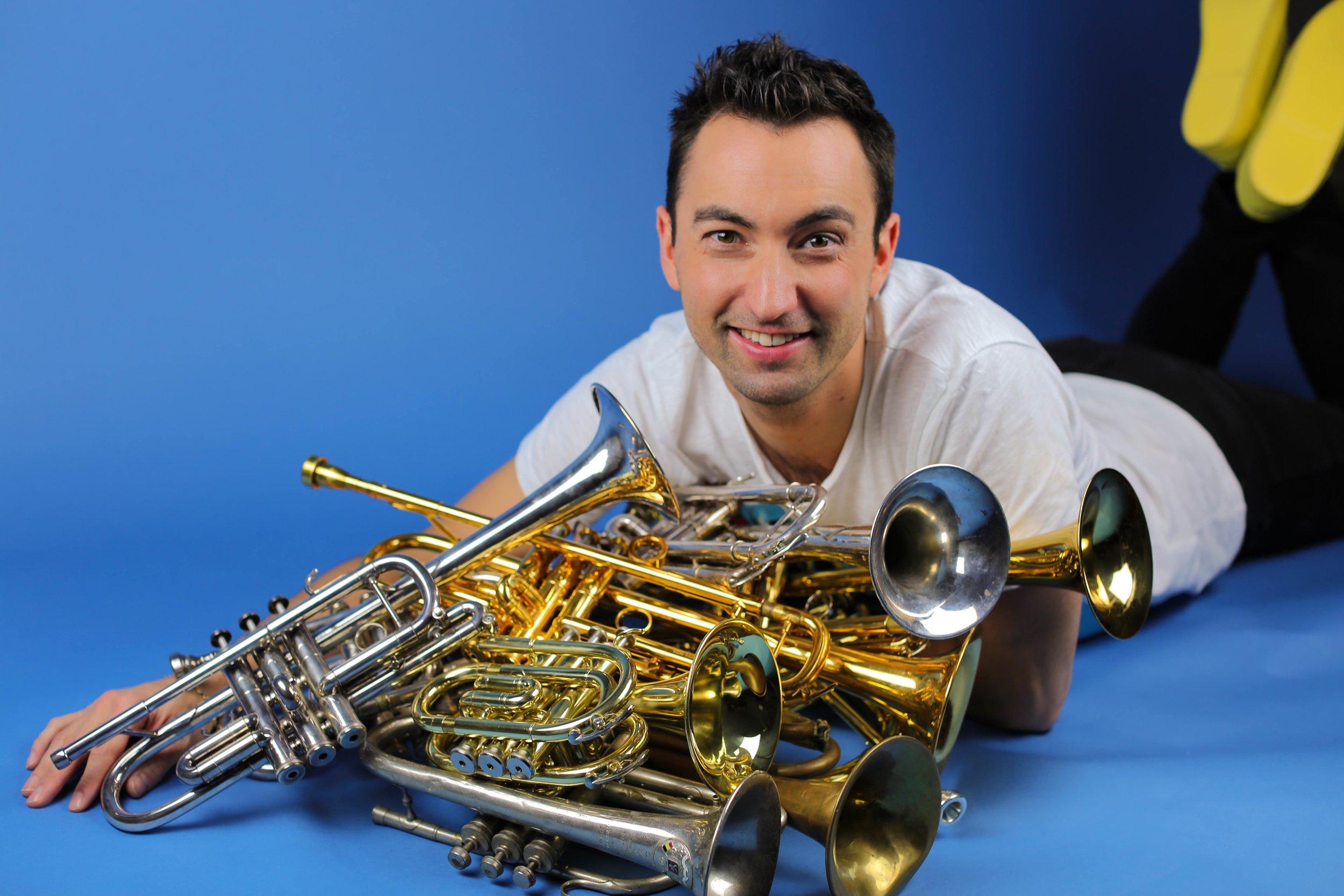 Rik Mol various trumpets