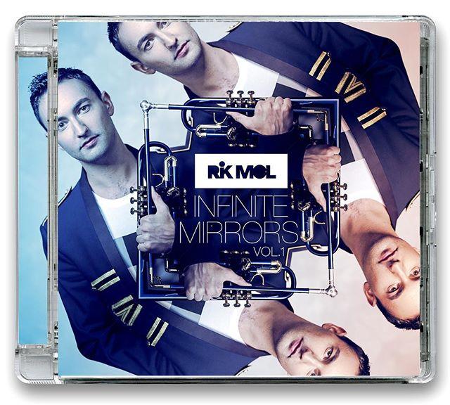 Ladies and gentlemen.. We proudly present 💿 'Infinite Mirrors vol. 1' !! It's finally there... #rikmol #dutchflower #heartselling #nujazz #soul #funk #jazz #jazztrumpet #trumpet #albumcover #coverart #artwork #trompet #bestoftheweek #funky #soulful