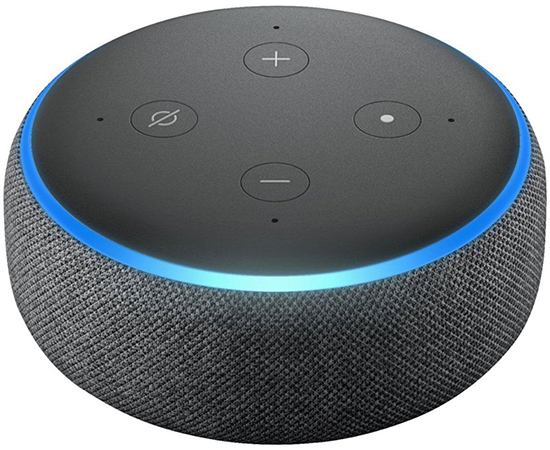 3rd Prize - Amazon Echo DotThe most popular Echo is now even better. With a new speaker and design, Echo Dot is a voice-controlled smart speaker with Alexa, perfect for any room. Just ask for music, news, information, and more. You can also call almost anyone and control compatible smart home devices with your voice.