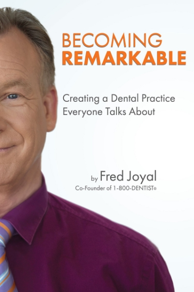 Becoming Remarkable: Fred delivers again...Great book about building  you dental brand and creating and awesome patient experience.
