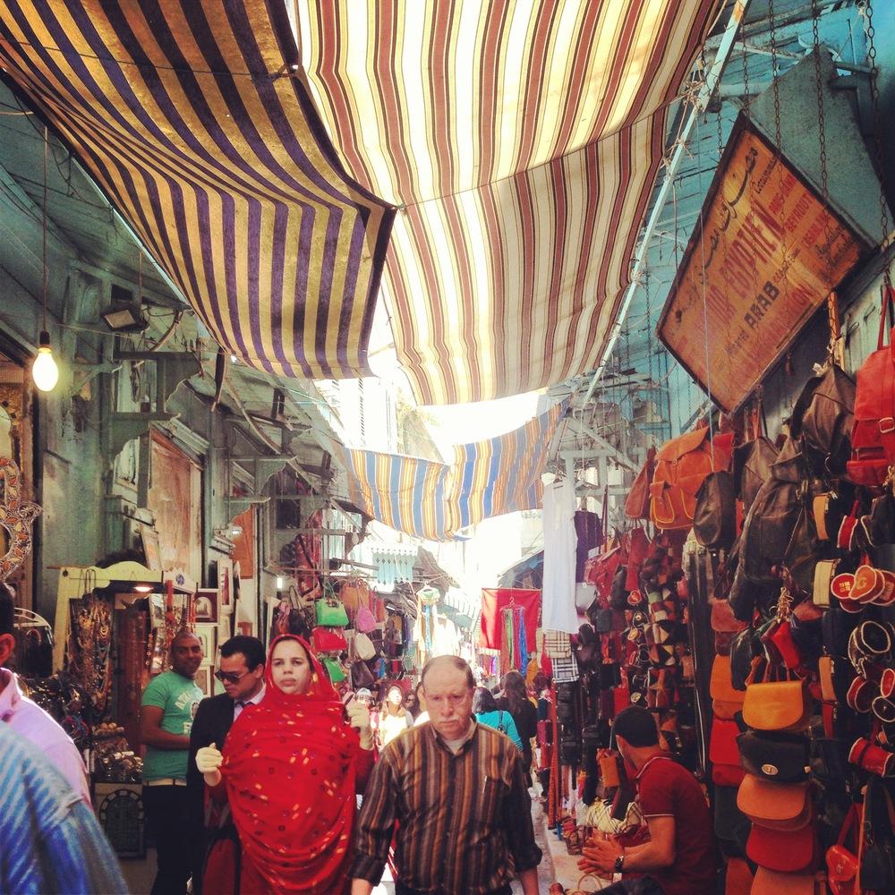 Main souk at Bab Bahr.