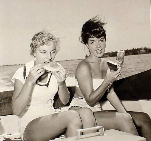 bettie and friend eating watermelon.jpg