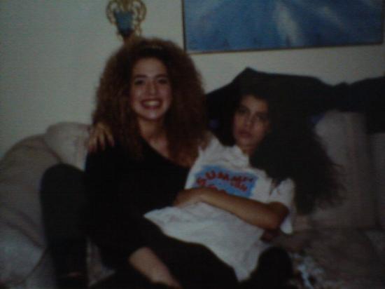 Tori & Alexis circa 1991