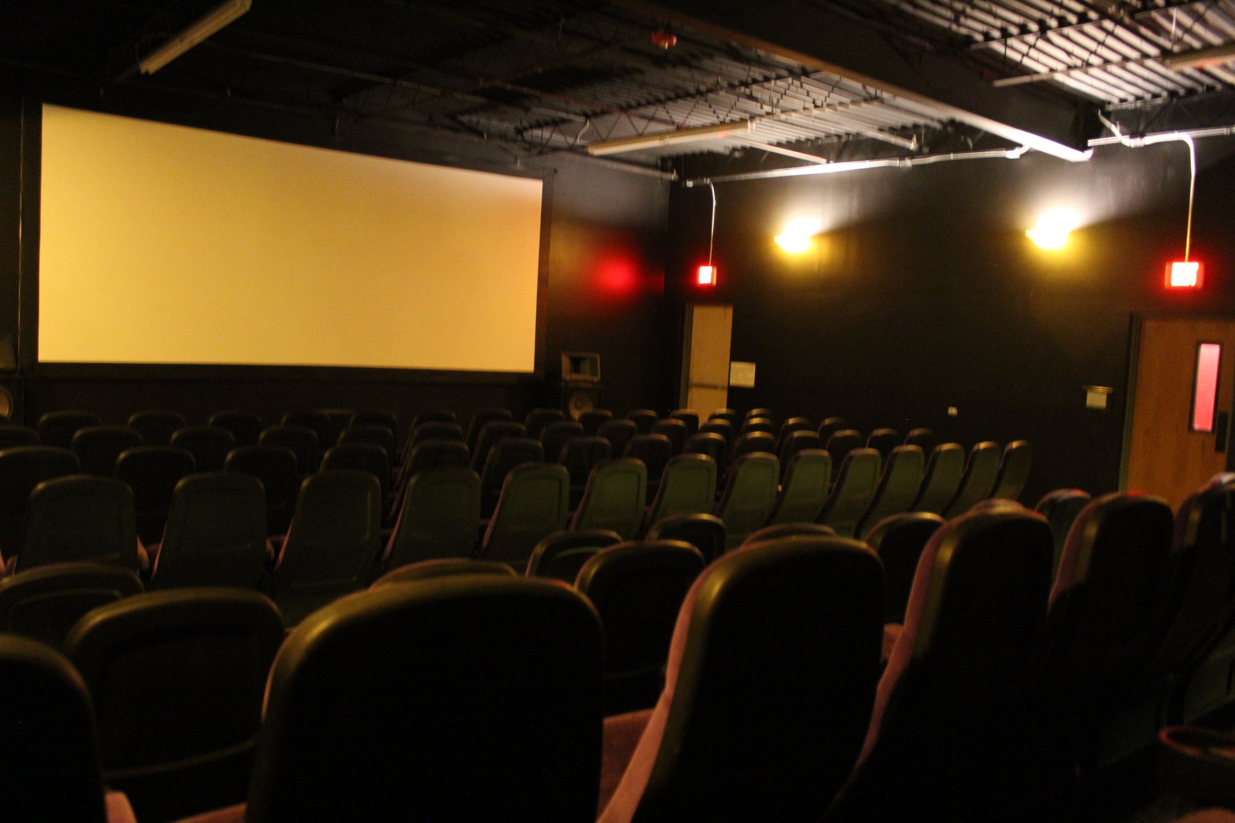 picture of screen 1 with all theater seats