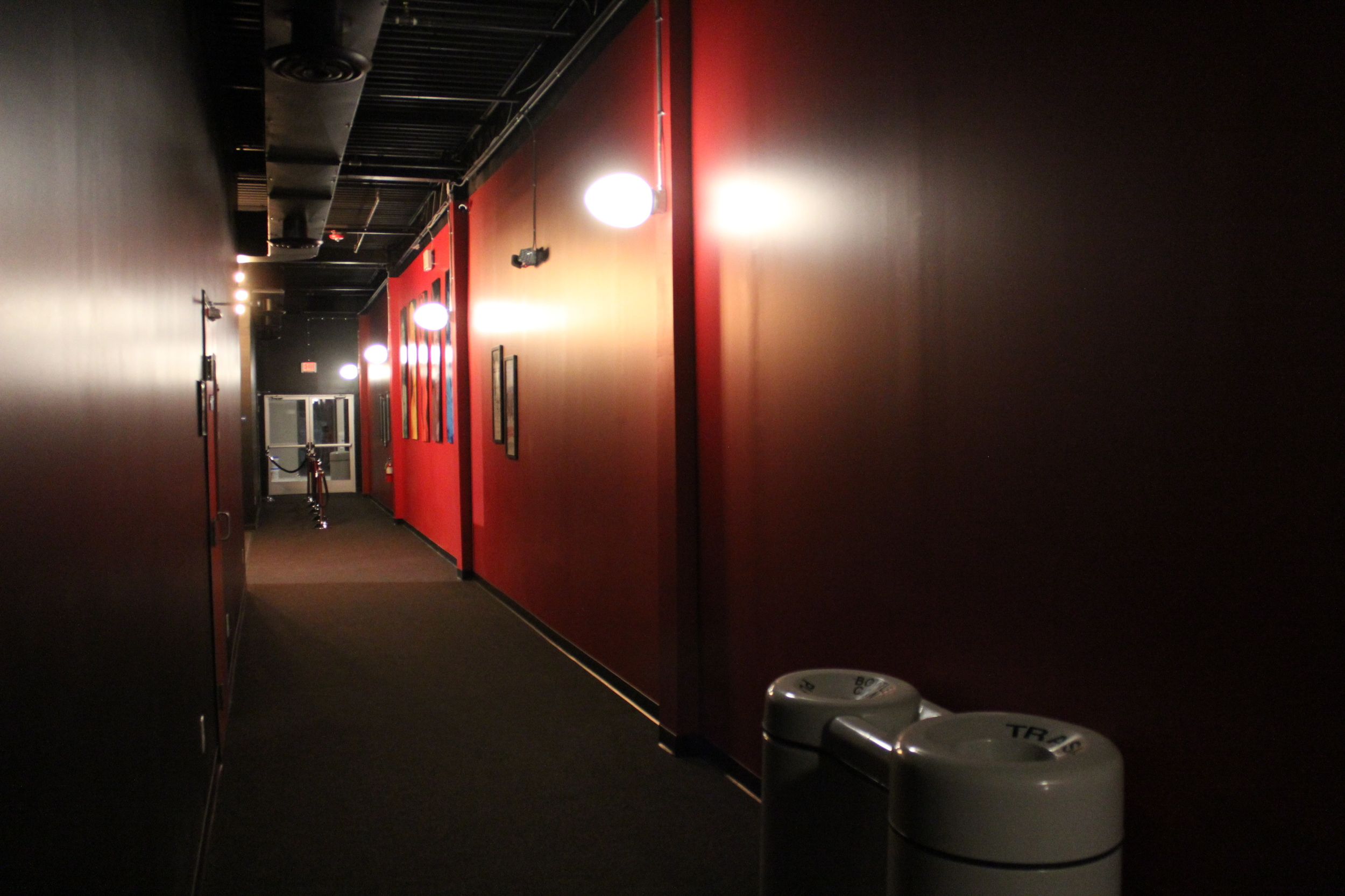 Hallway from screen 3