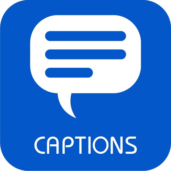 Captions Logo