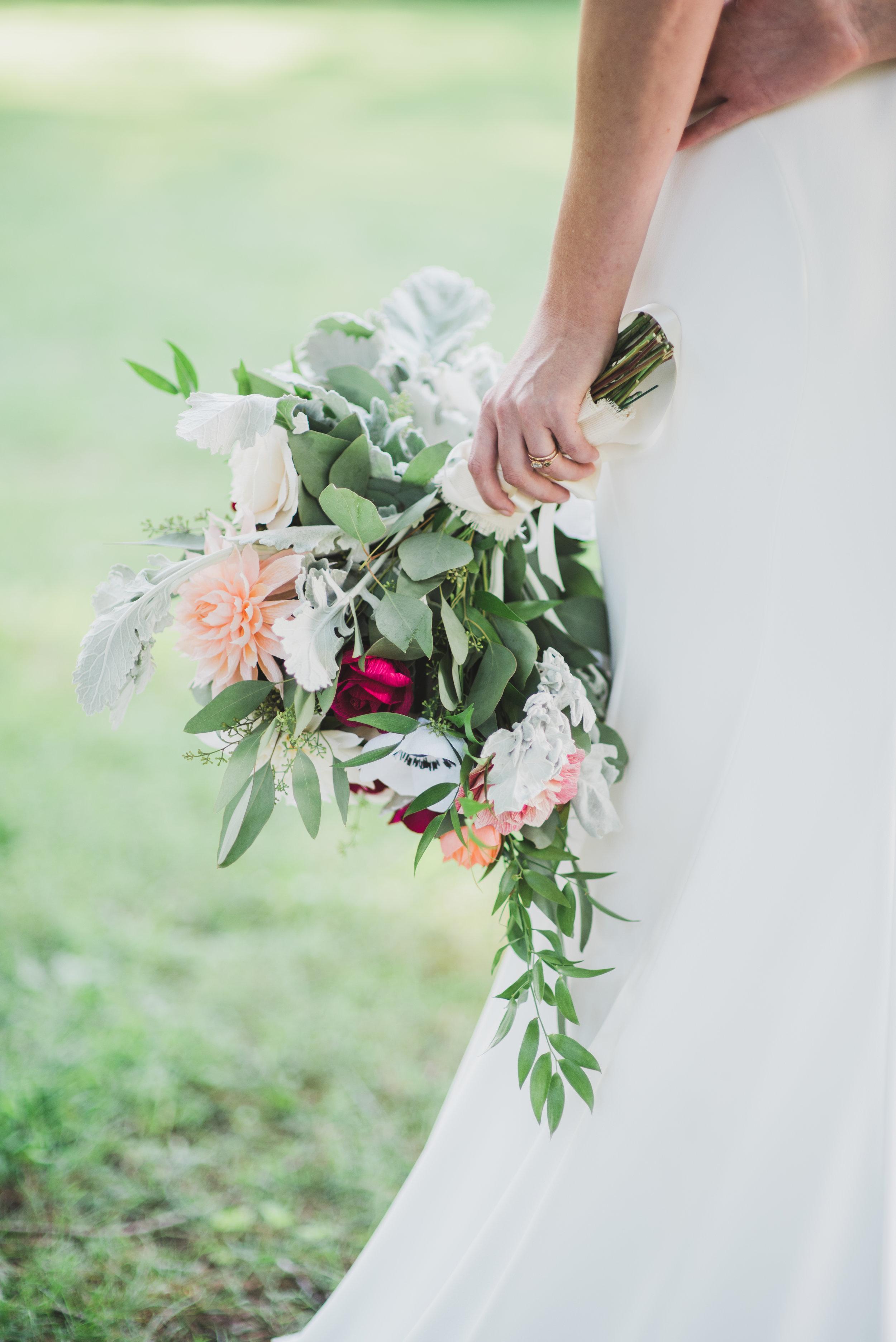 Elegant Garden Wedding Photo Shoot: bouquet