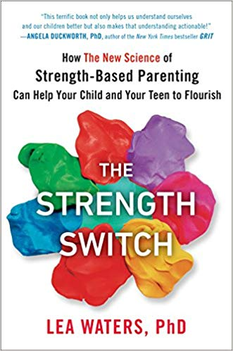 The Strength Switch  is filled with relatable examples of how focusing and honoring your child's strengths will have an overall positive effect on them and your relationship with them. You'll also find plenty of helpful practices guiding you to be more strength-based when navigating everyday life with growing children.