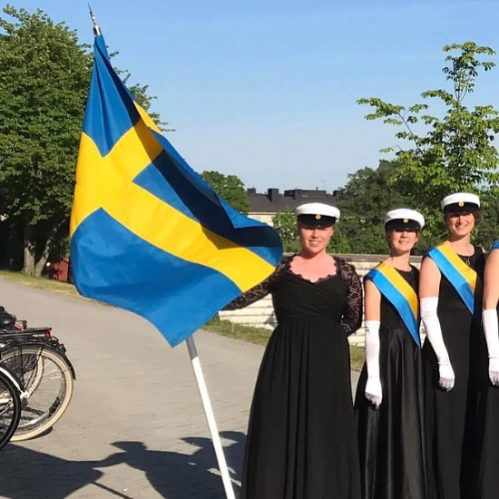Glad Nationaldag, Sverige! 🌸 Today it's Sweden's national day, and the NCF sends its warmest greetings and congratulations 🌟#mittinorden #sweden
