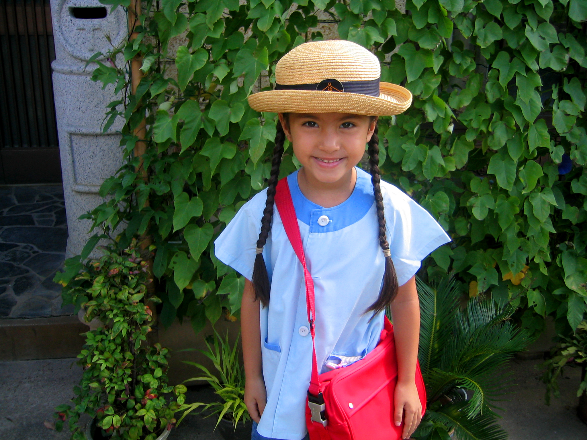 First day of kindergarten in Japan.
