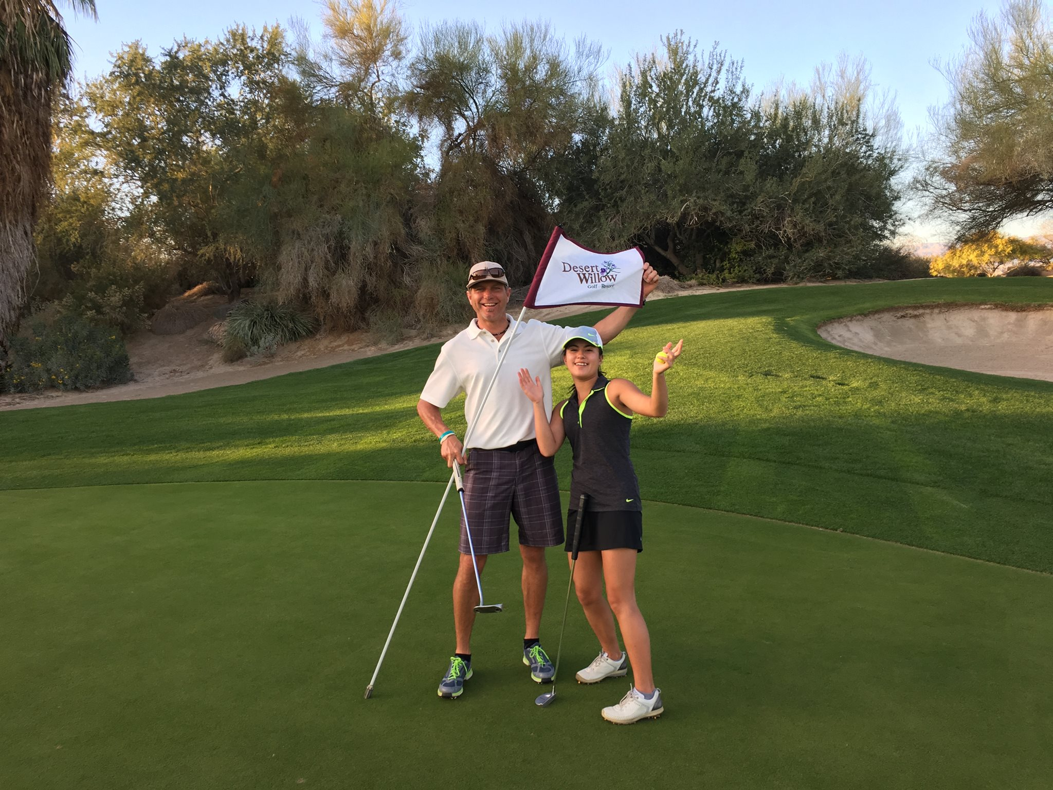 Me & Dave,Desert Willow, Palm Desert