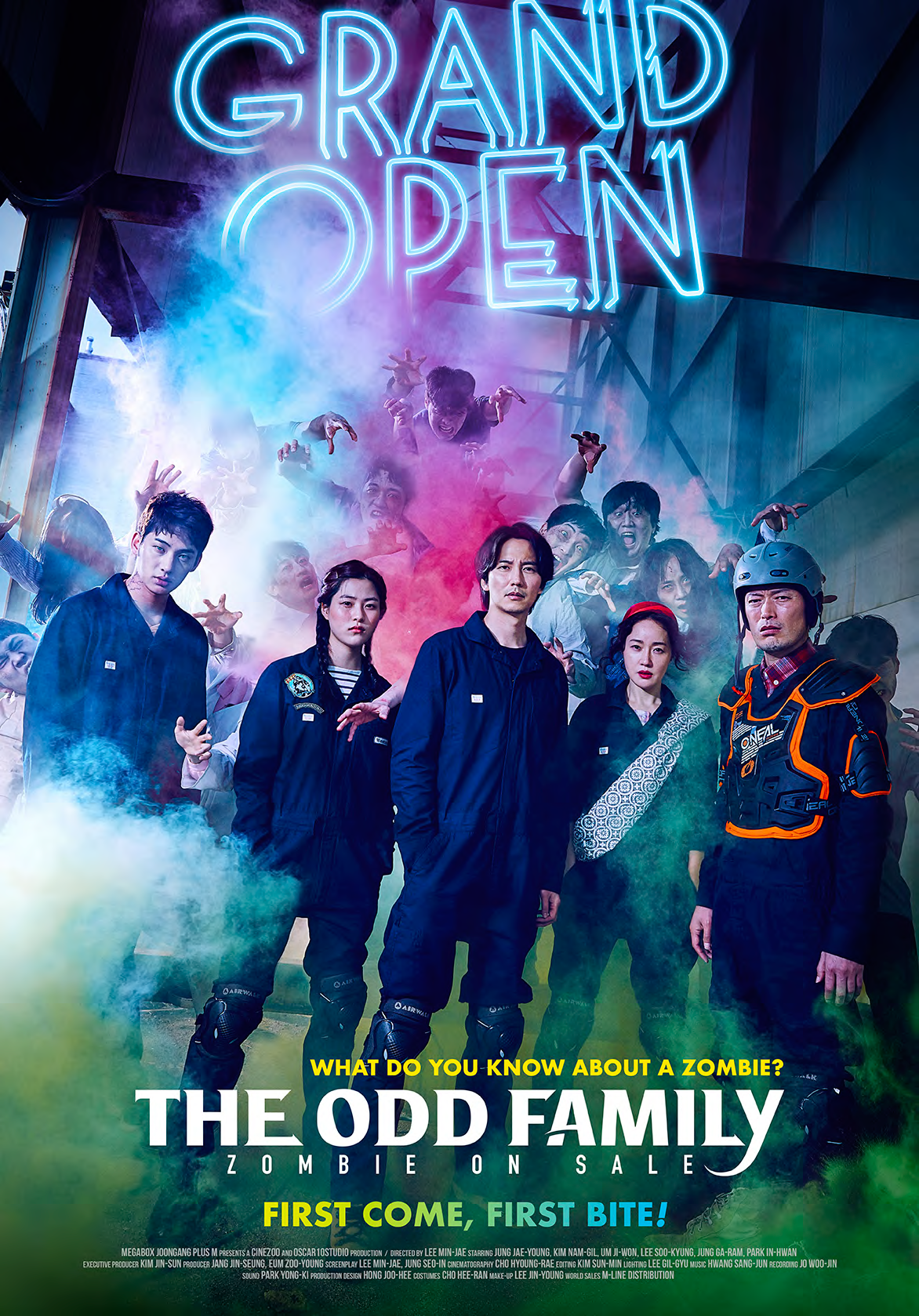 THE ODD FAMILY: ZOMBIE ON SALE | SOUTH KOREA | COMEDY