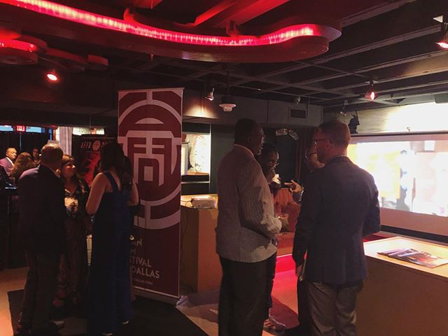 The Asian Film Festival Of Dallas is hosting a party for our VIPs!! Great ambience, food, and people; what a way to kick off the 18th year!  #affd2019 #asianfilmfestivalofdallas #ilovesubtitles #dfw #downtowndallas #thingstodoindallas #vip #filmfestival #asian #asianamerican