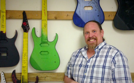 Jim Lewis - Luthier, President - S7G Guitars