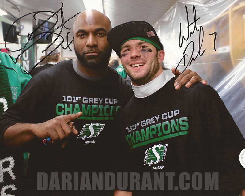 Dual Autographed 8x10 w/ Weston Dressler (signed in black ink) $95 + $5 shipping