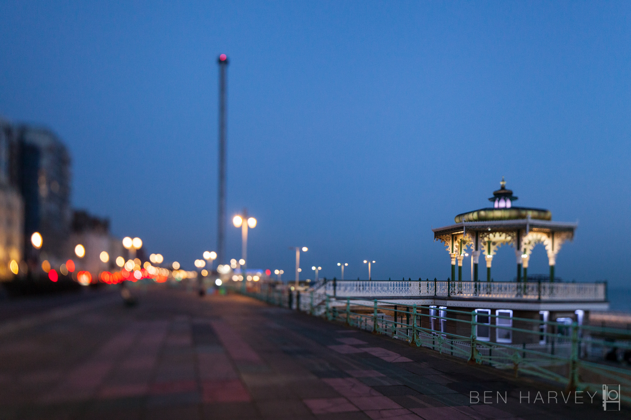 Band Stand and i360