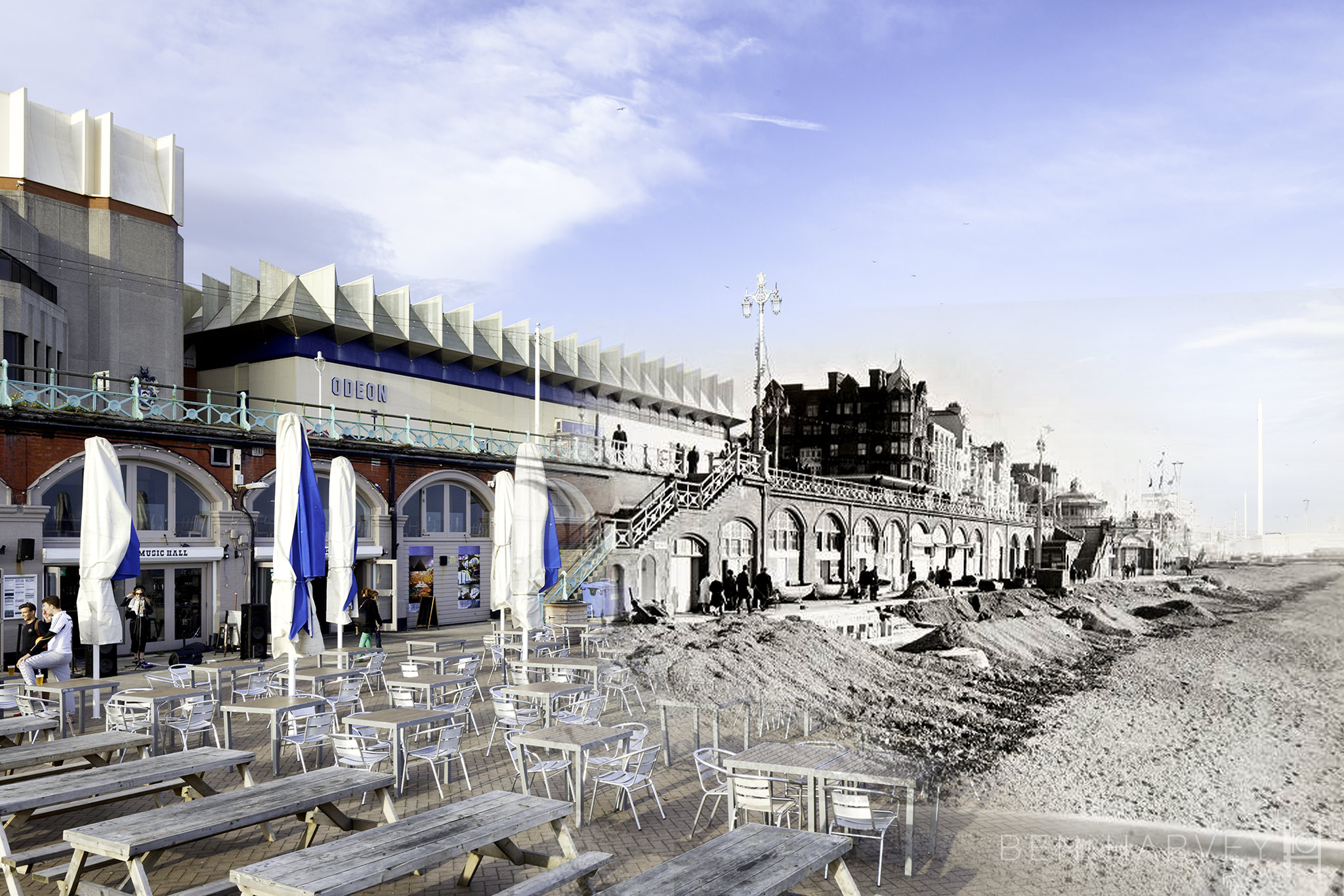 10. Odeon and seafront