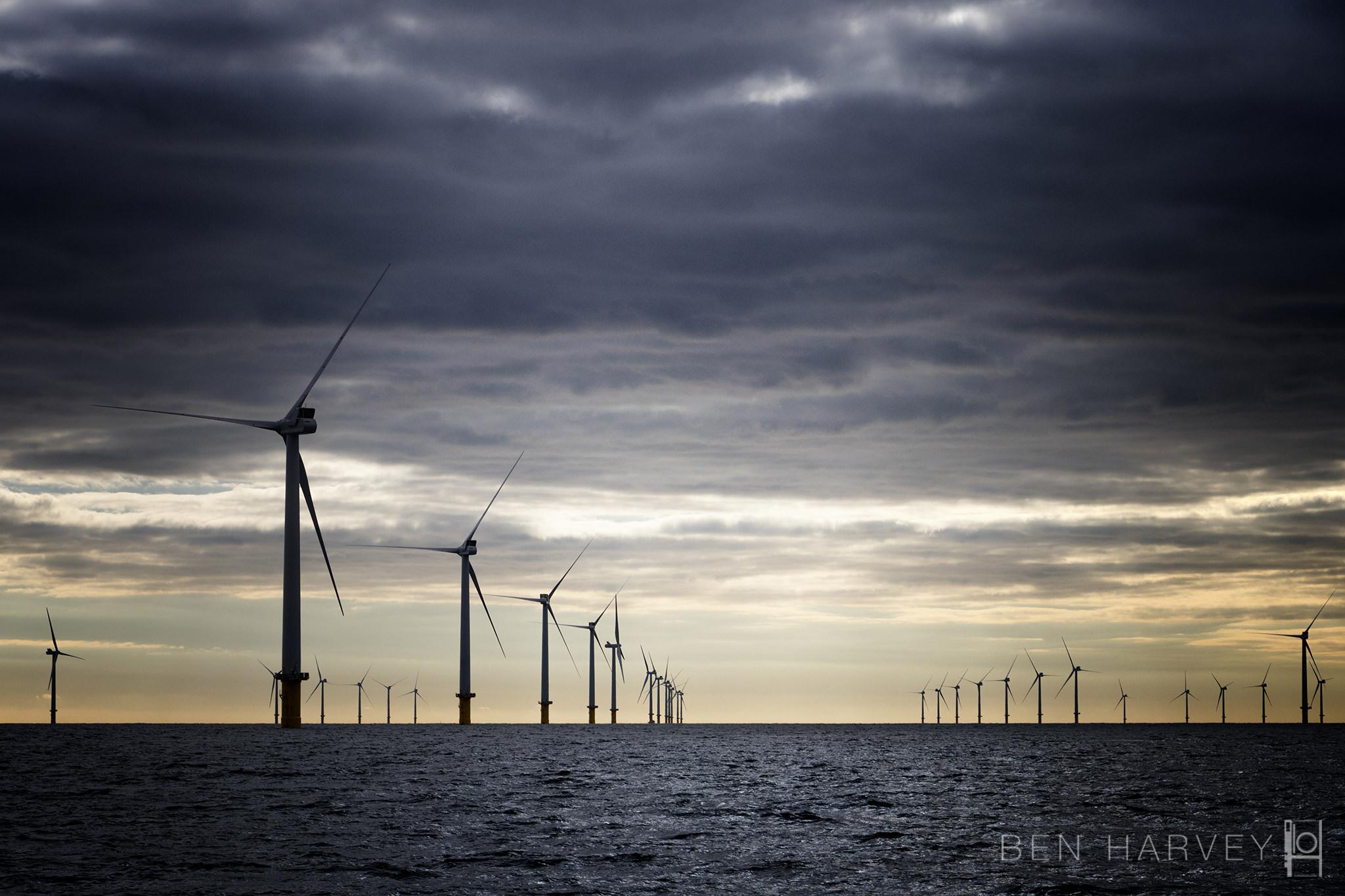 Approach to windfarm