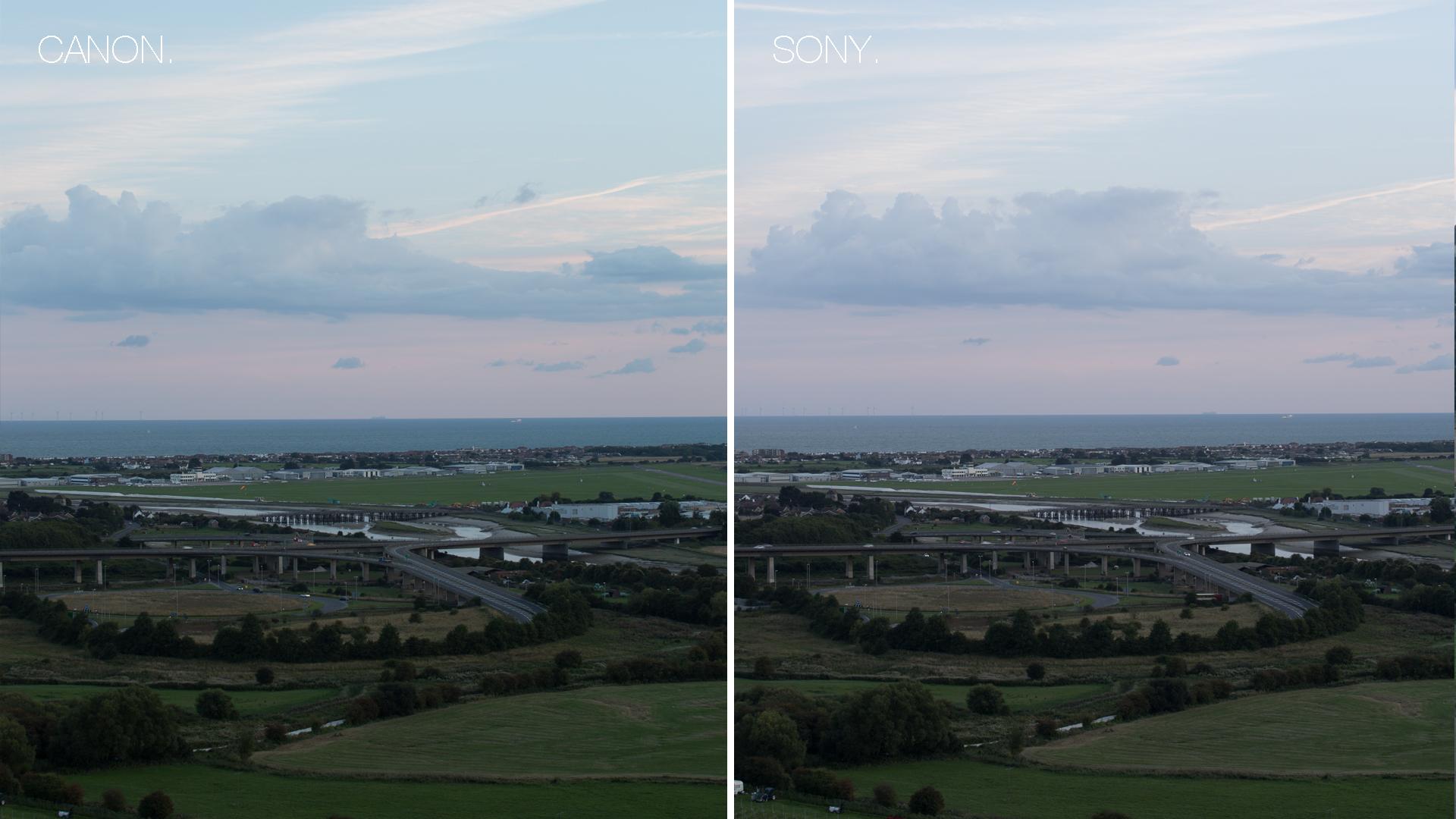Canon vs Sony comparison 5